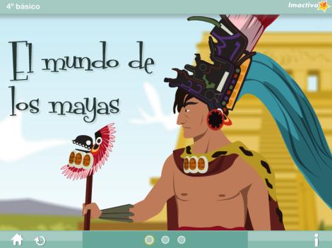 El mundo de los mayas